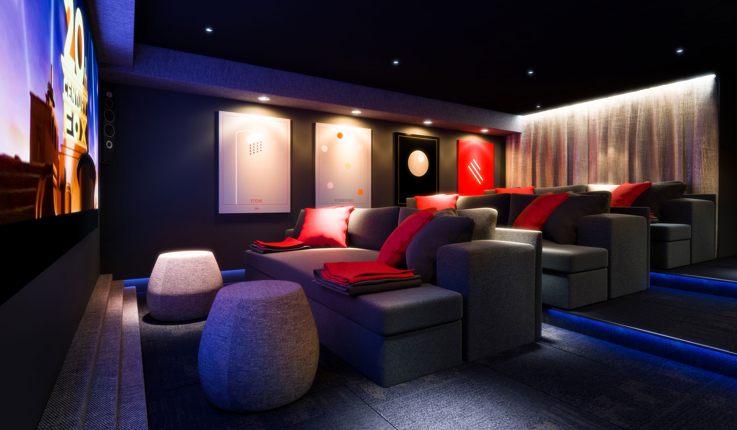 Vibe student accommodation cinema