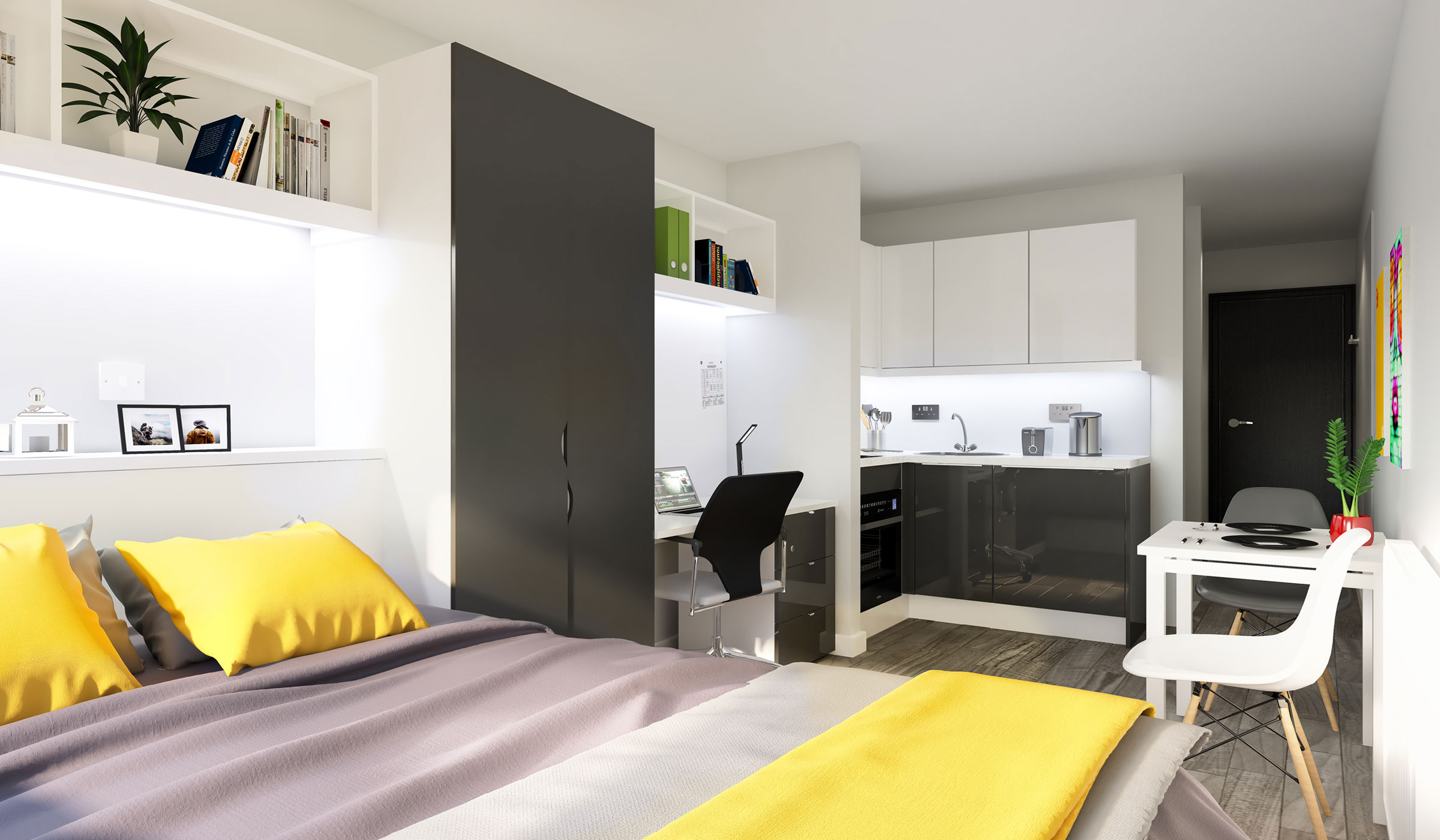 Vibe student accommodation premium studio