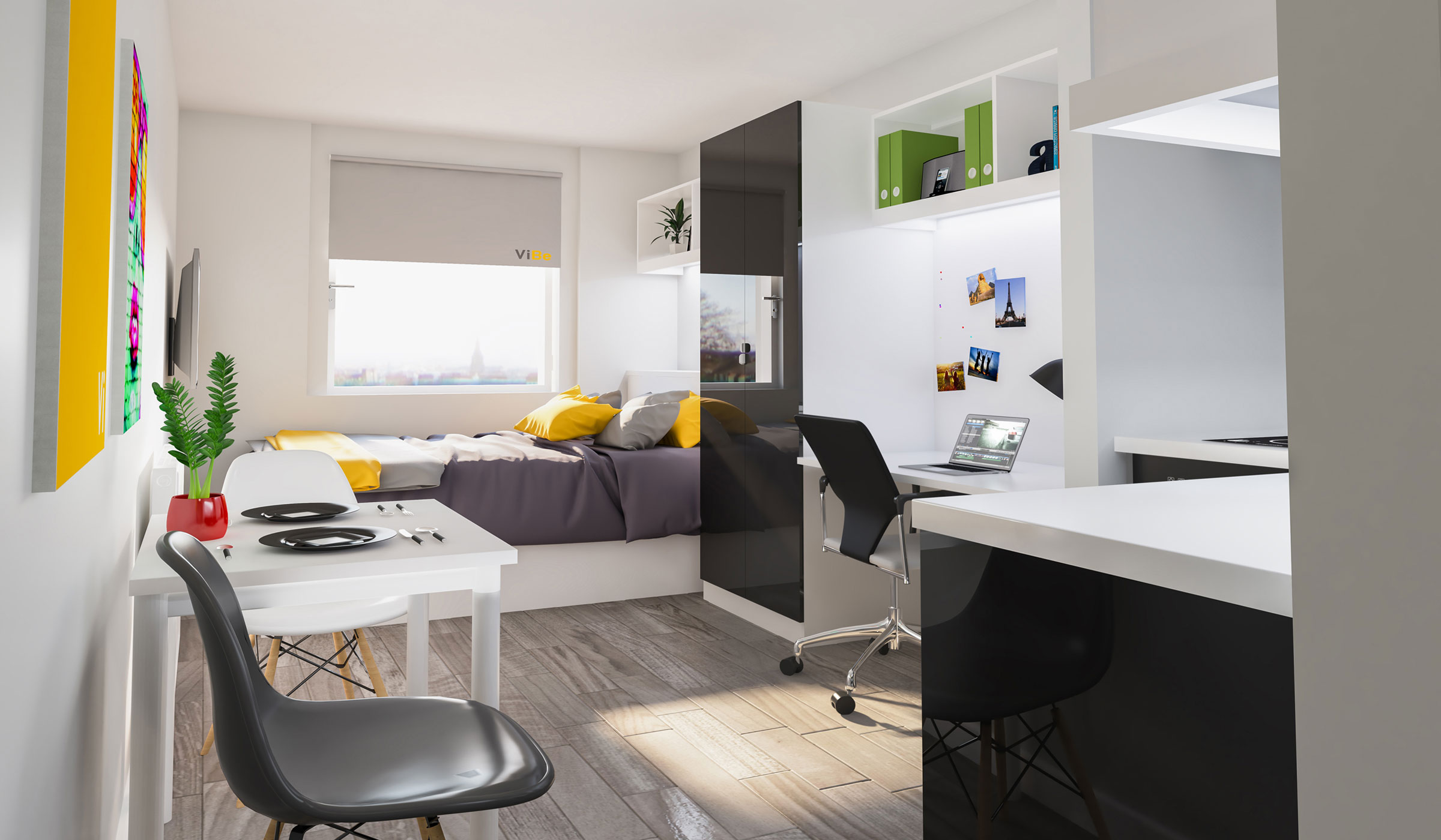 Vibe student accommodation standard studio
