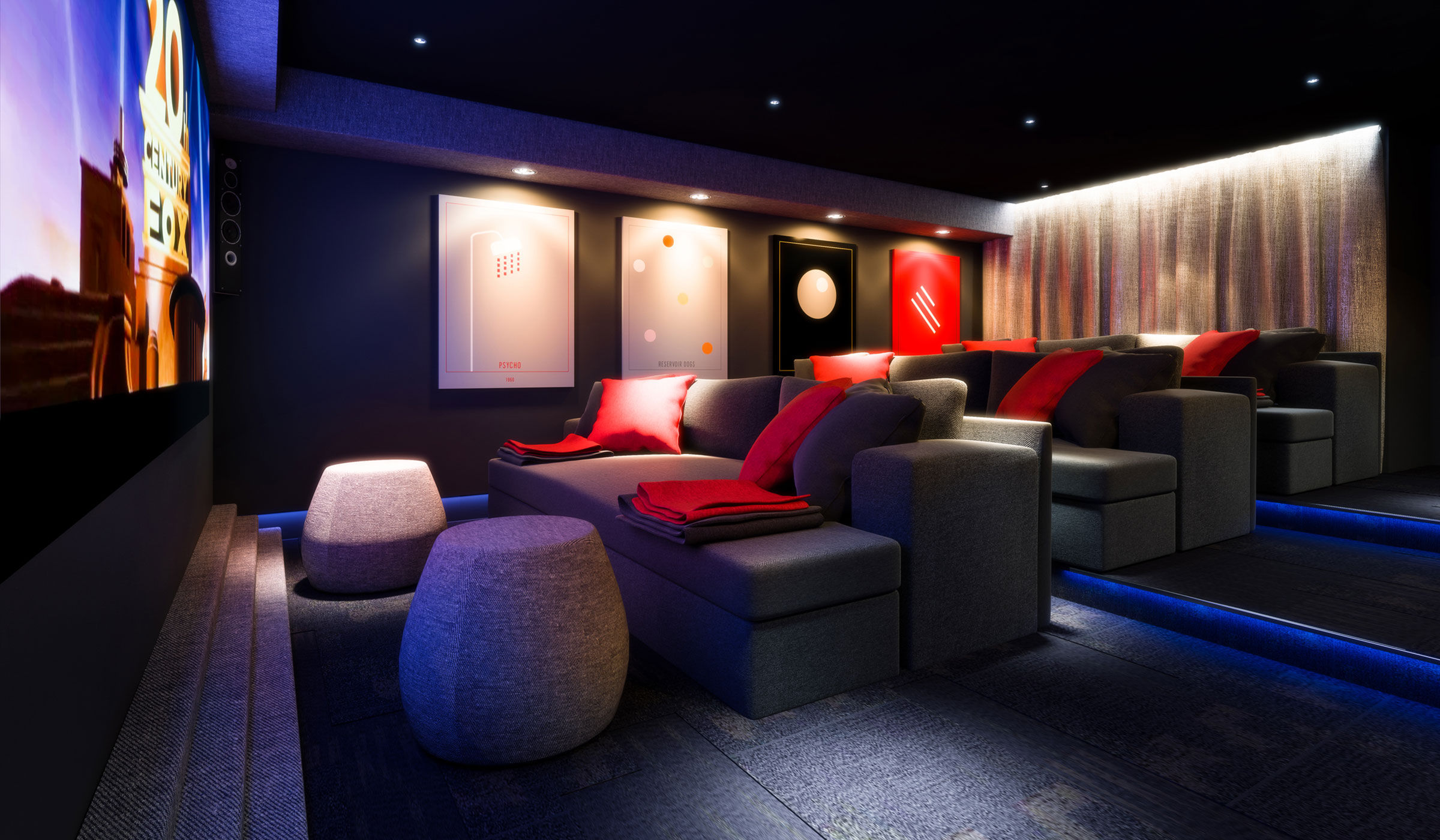 Vibe Student Living cinema